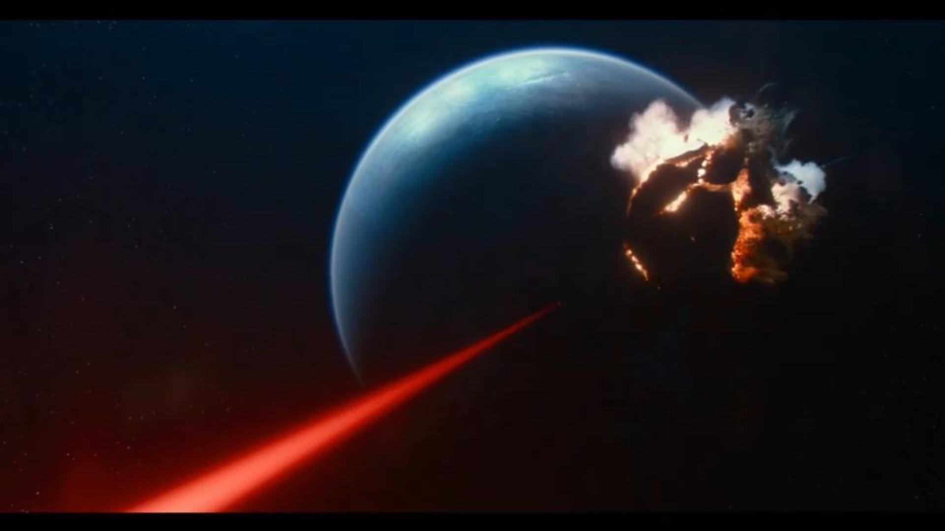 【科幻影视合集】一发歼星!经典科幻电影中那些星球毁灭镜头!