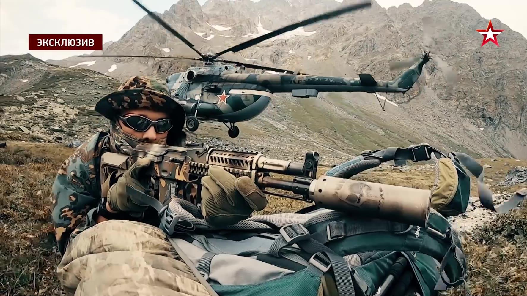 俄罗斯红星电视台 :祝贺我们的特种部队越来越强大
