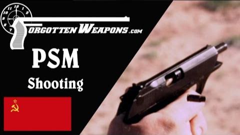 【被遗忘的武器/双语】试射PSM--5.45x18mm和7.62x25mm的软质防弹衣测试