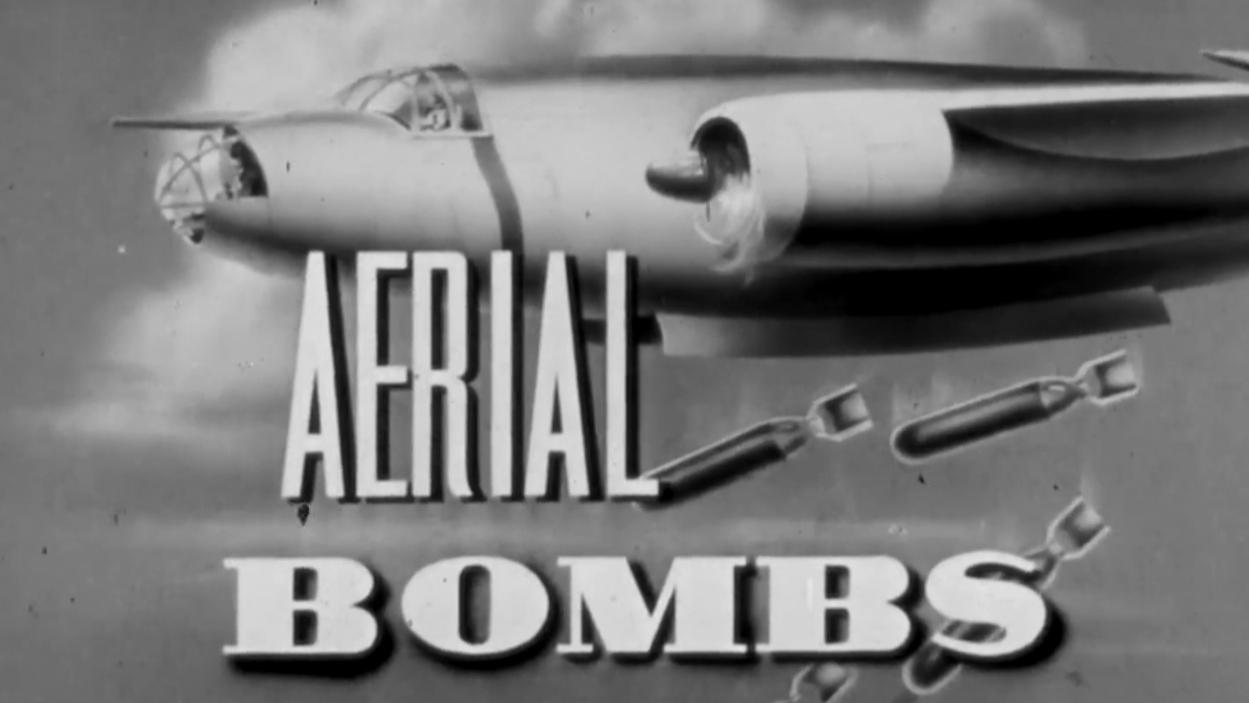 航空炸弹:装载方式|美国陆军航空兵军教片1941