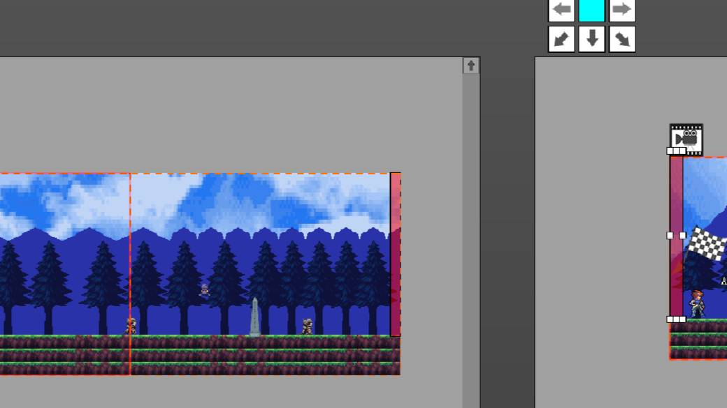 Pixel Game Maker MV 入门教程:(21)连接转移设置