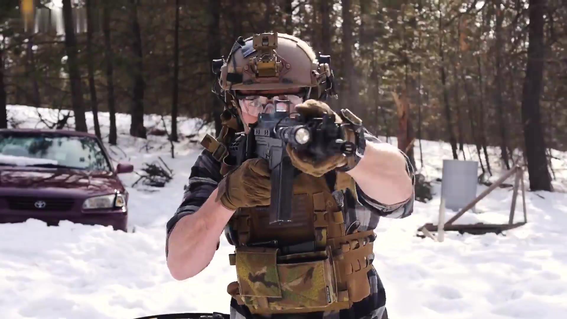 DSA SA58 OSW 射击训练