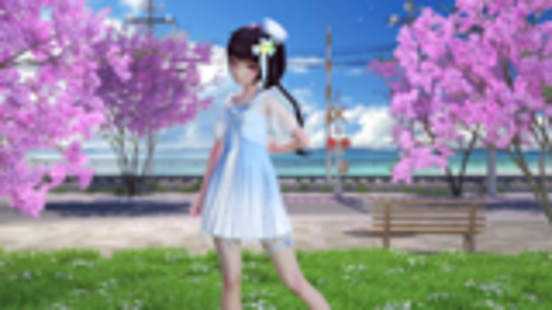 【MMD】春暖花开 彩虹节拍