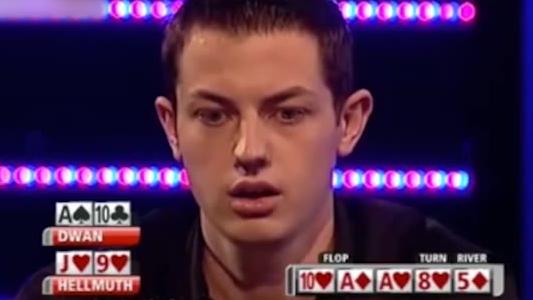 德州扑克:TomDwan毒王天葫芦!对手同花,有好戏看了!