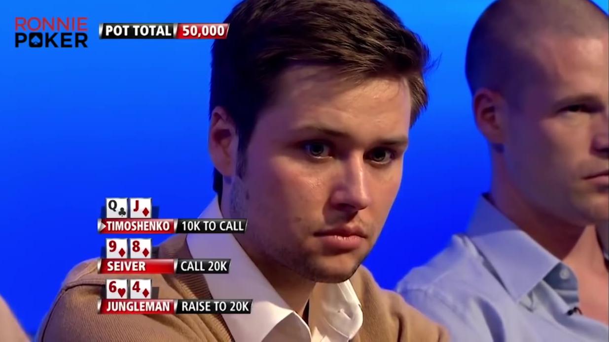 【肉泥poker】超级联赛(24) 打牌还是要集中注意力,随时小心前面的深蹲翘臀选手