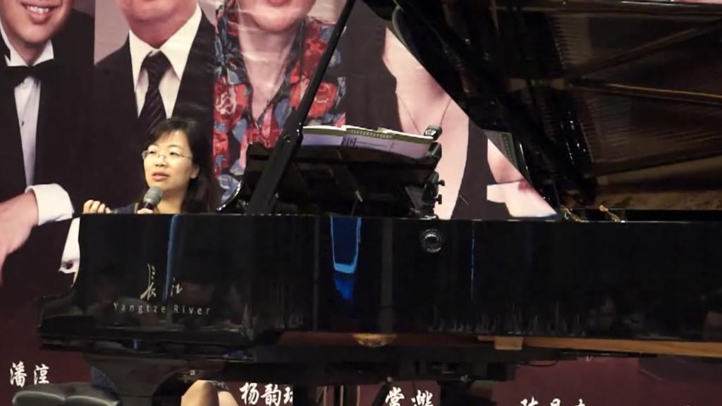 长江钢琴大师讲堂-陈曼春