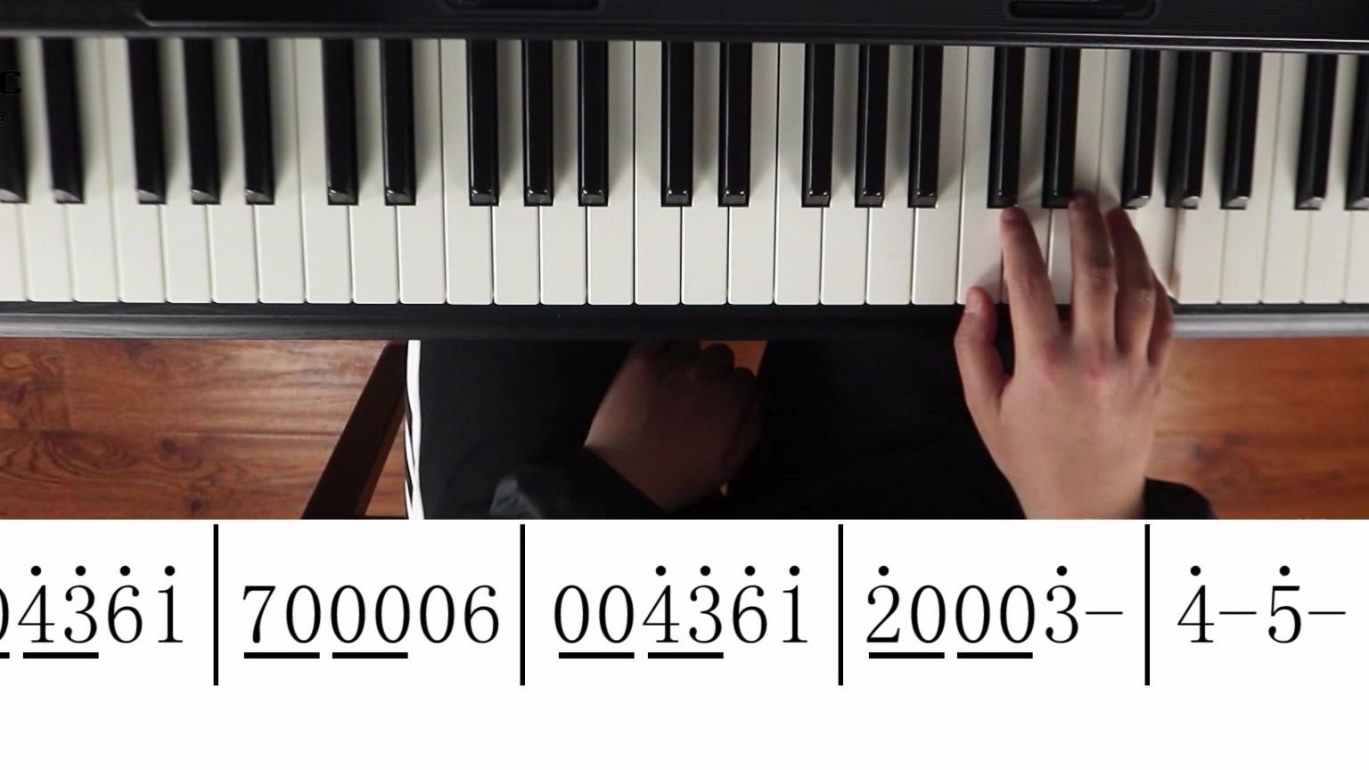 交作业!花花的宠粉歌曲《与火星的孩子对话》手把手钢琴教学