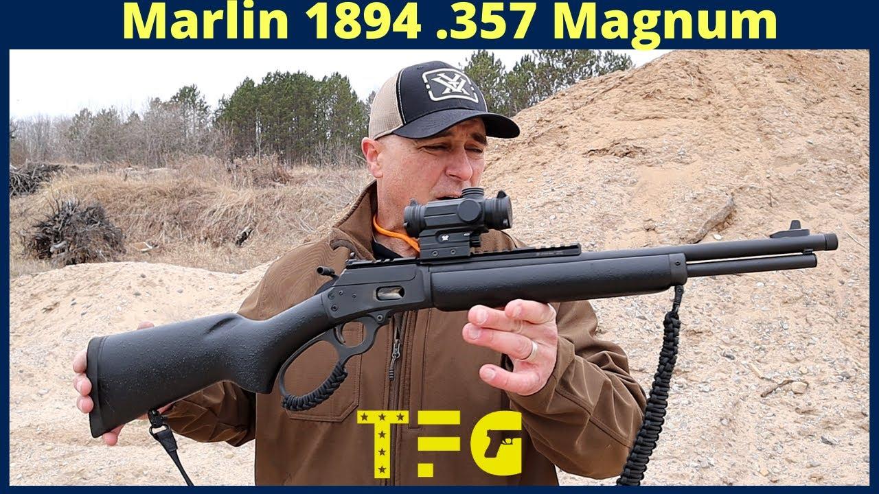 [TheFirearmGuy]马林1894杠杆步枪125码试射