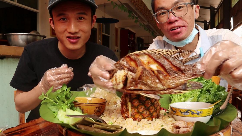 """非常时期的云南,79元的""""菠萝手抓饭""""恢复原价,肉痛啊"""