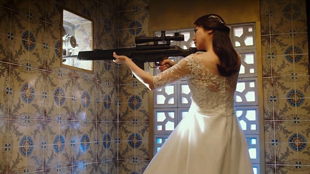 女孩为了复仇,成为顶级杀手,最后杀死自己的老公