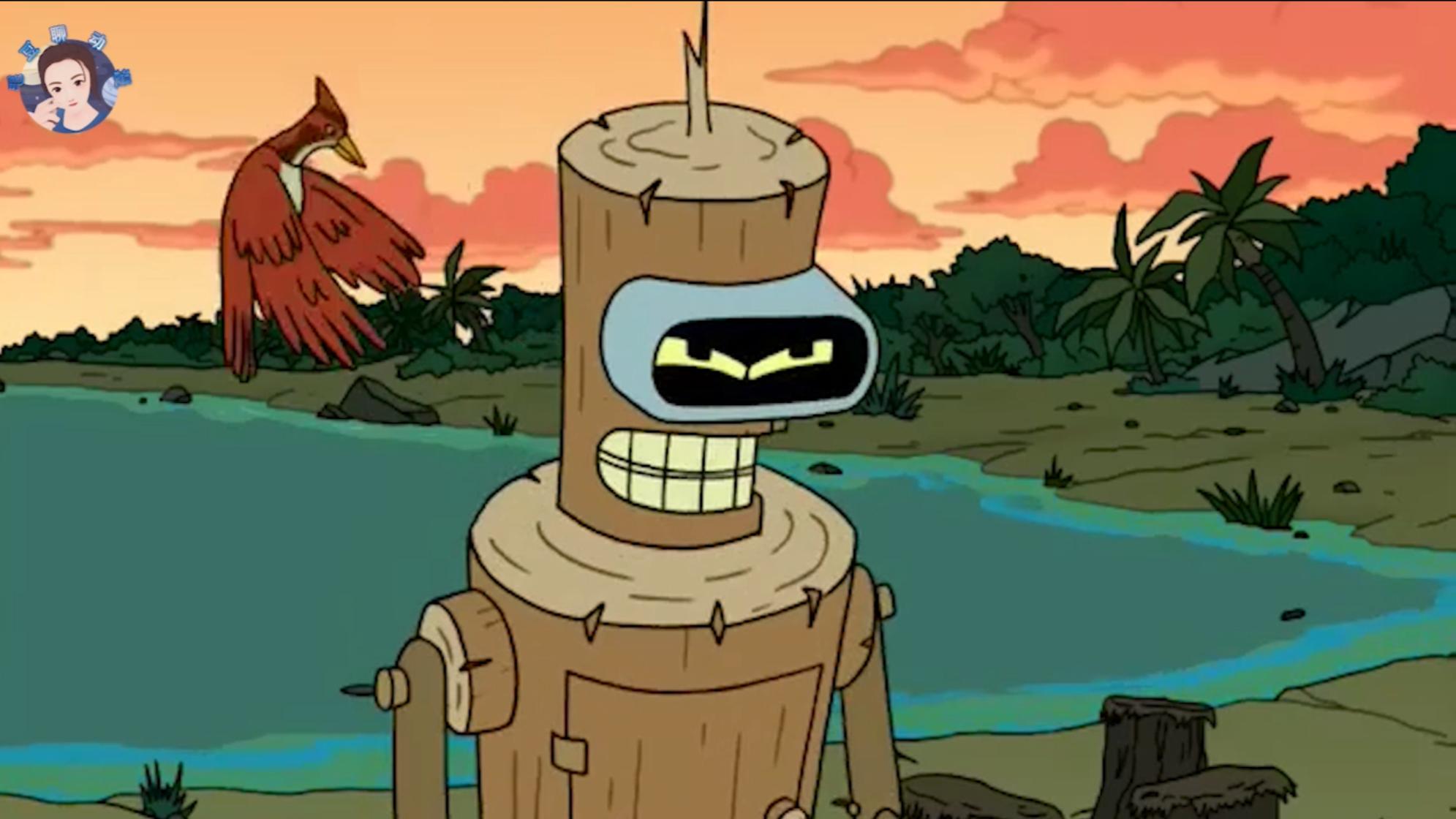 """机器人班德放弃科技,退化至""""纯手工木制品""""!《飞出个未来》"""