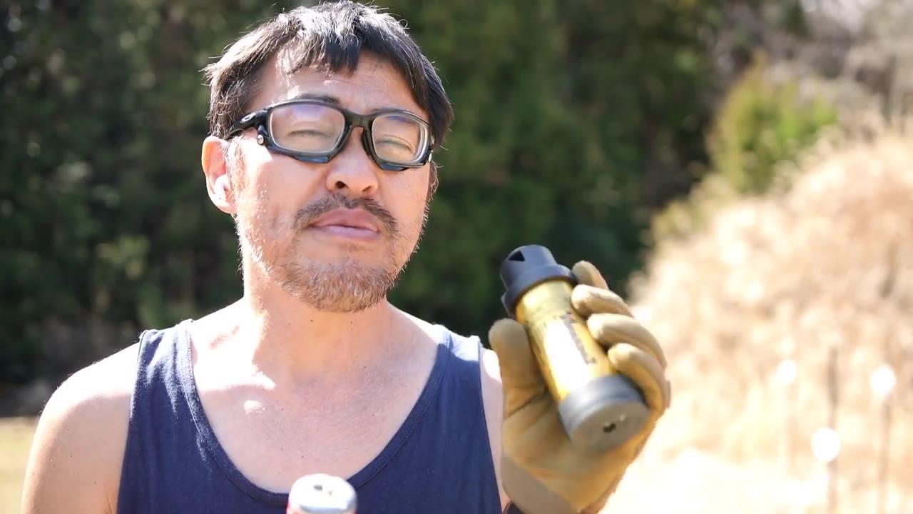 【日本壕界大叔】定时气体BB手榴弹托尔纳德2秒400发