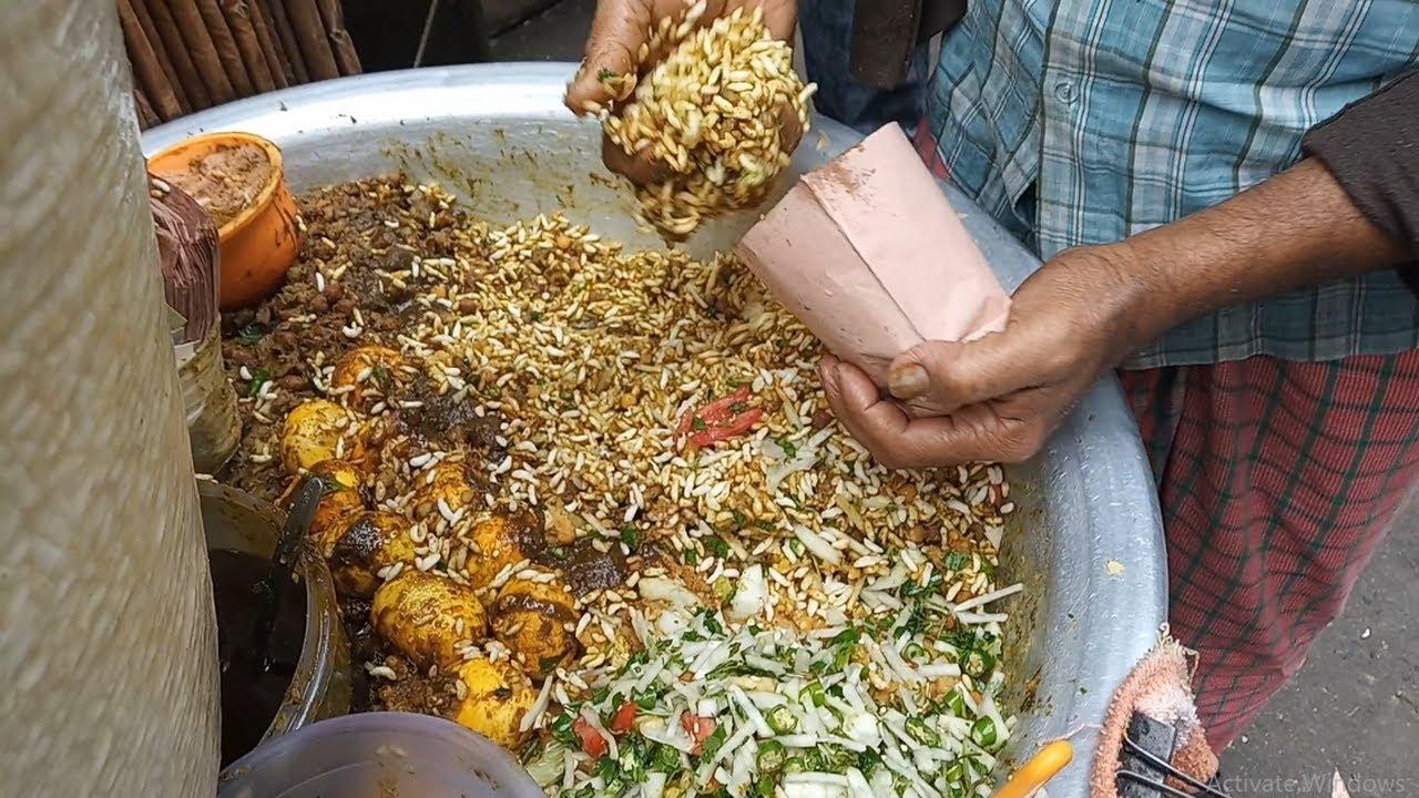 孟加拉街头的爆款小吃,卖的很火就是有点儿重口味呀!