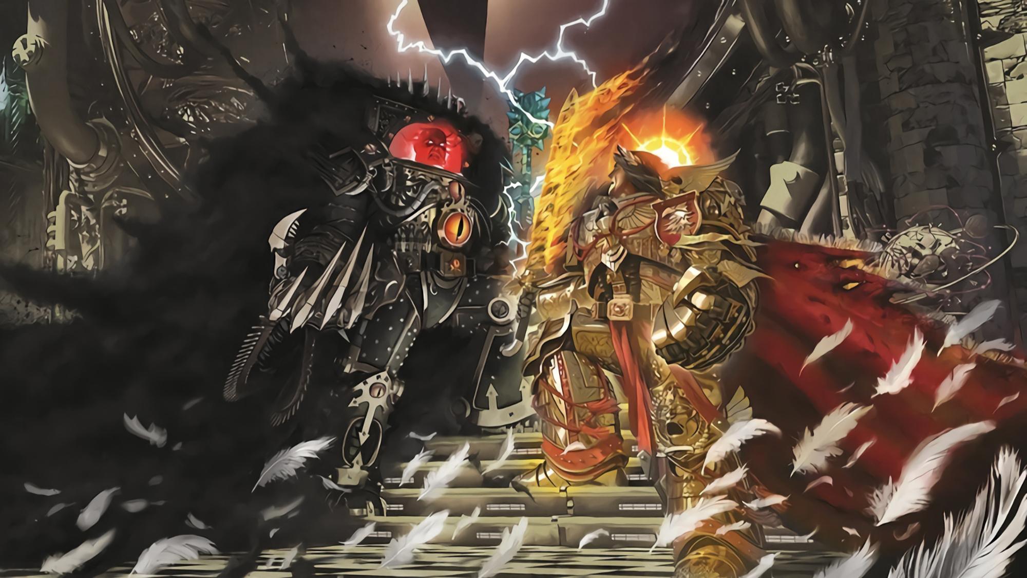 【达奇】忠诚的利刃 誓斩篡位者之头颅《战锤40K》背后的故事