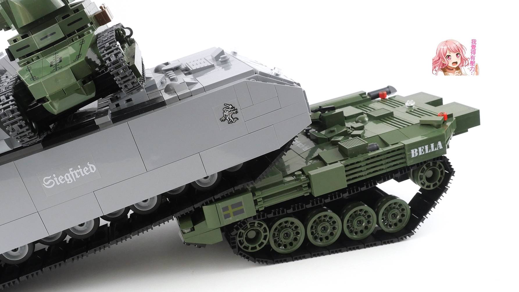 500多片零件,搭建坦克世界里的怪异坦克,你能认出它的原型吗?