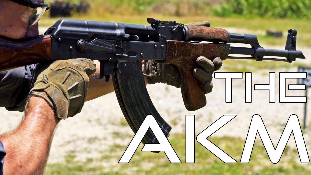 中文字幕【Garand Thumb】AKM(世界上最常见的突击步枪)测评