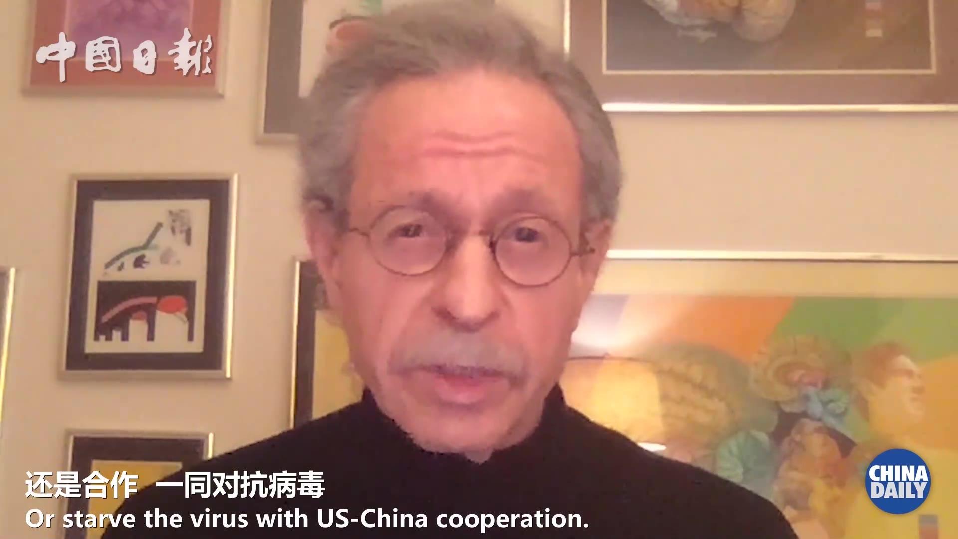 """美知名""""中国通""""库恩:在抗击疫情上没有哪一个国家比中国做得更好"""
