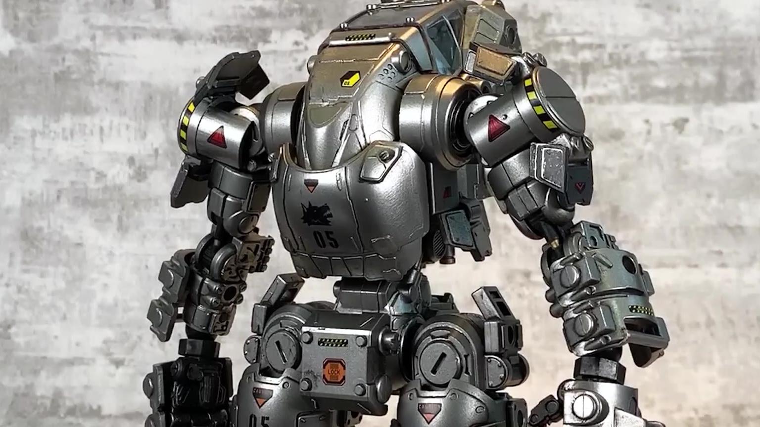 【78速开】暗源H02攻击机甲