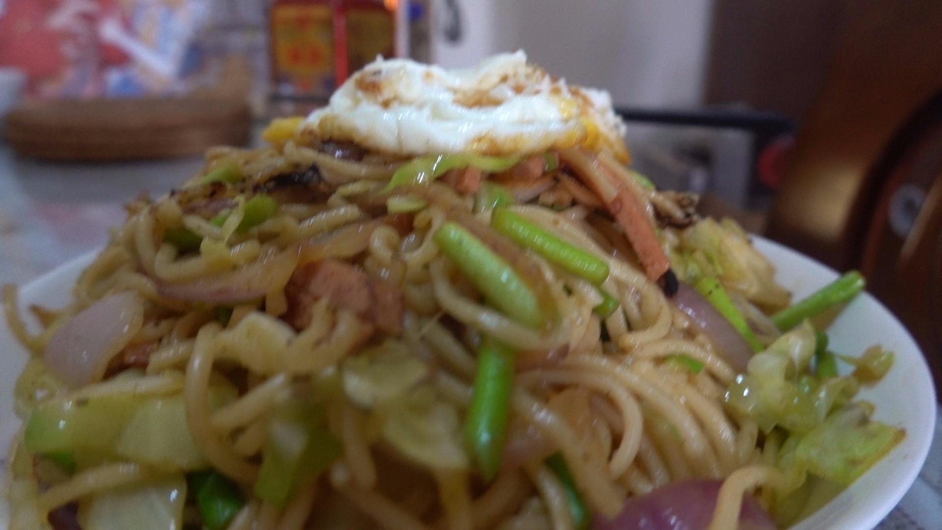 【老司马的日常食堂】简单好吃的快手炒面