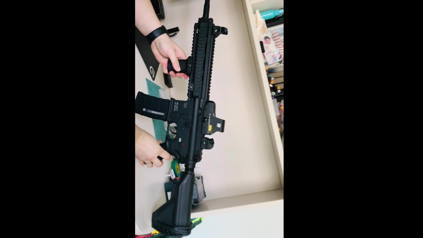 HK416 外改以及效果 「应大家要求」