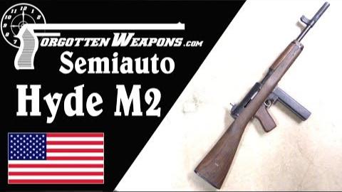【被遗忘的武器/双语】M2海德半自动复刻版--美利坚二战冲锋枪临时之作