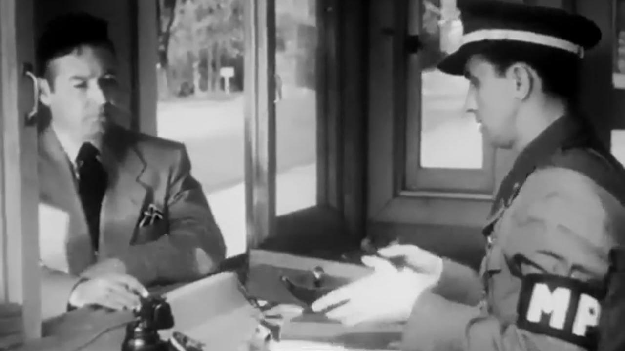 仓库盗窃事件|美国陆军军教片1950