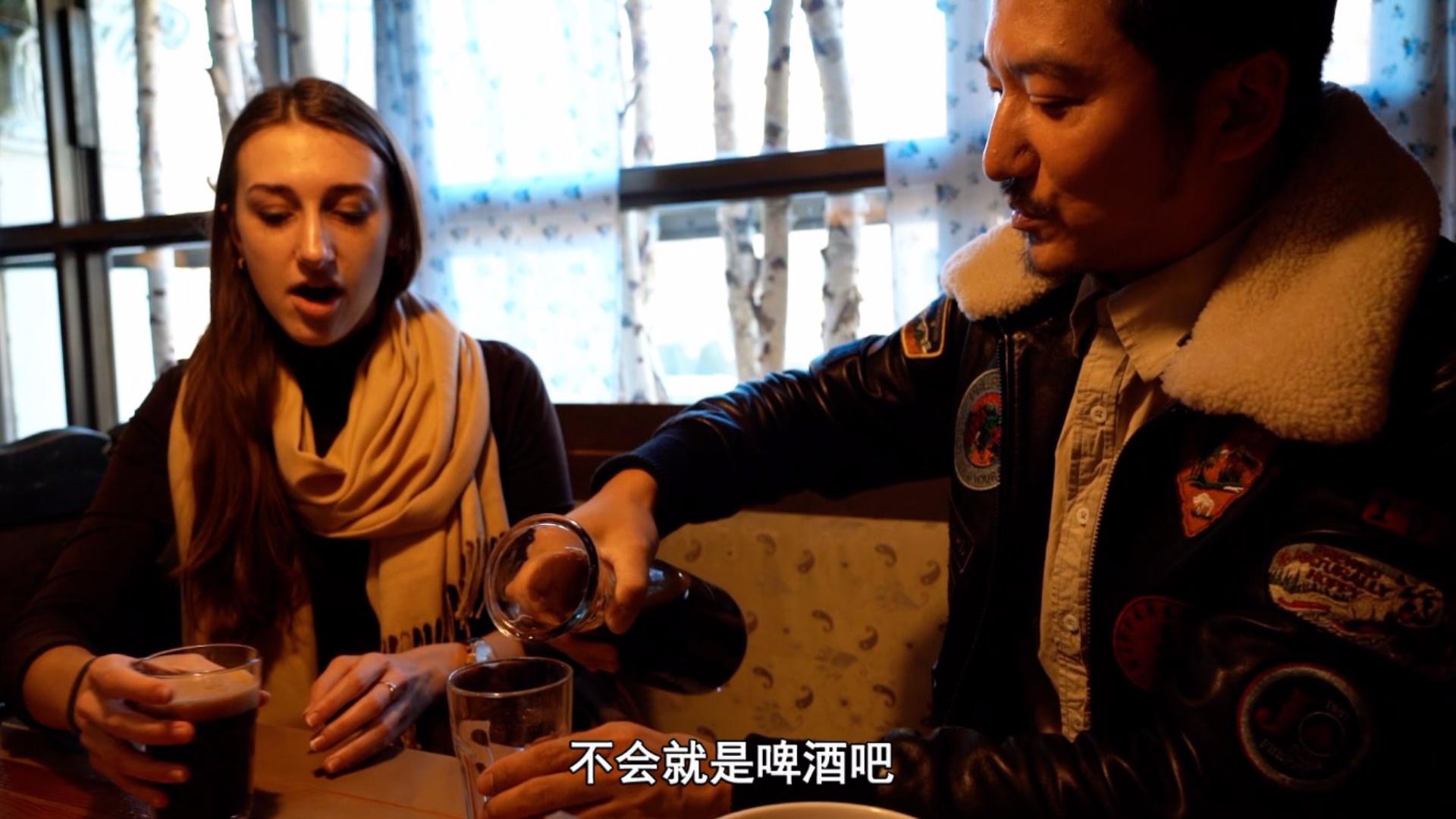 约会白俄罗斯学中文的女孩,羡慕中国生活便利,直言嫁到中国是首选
