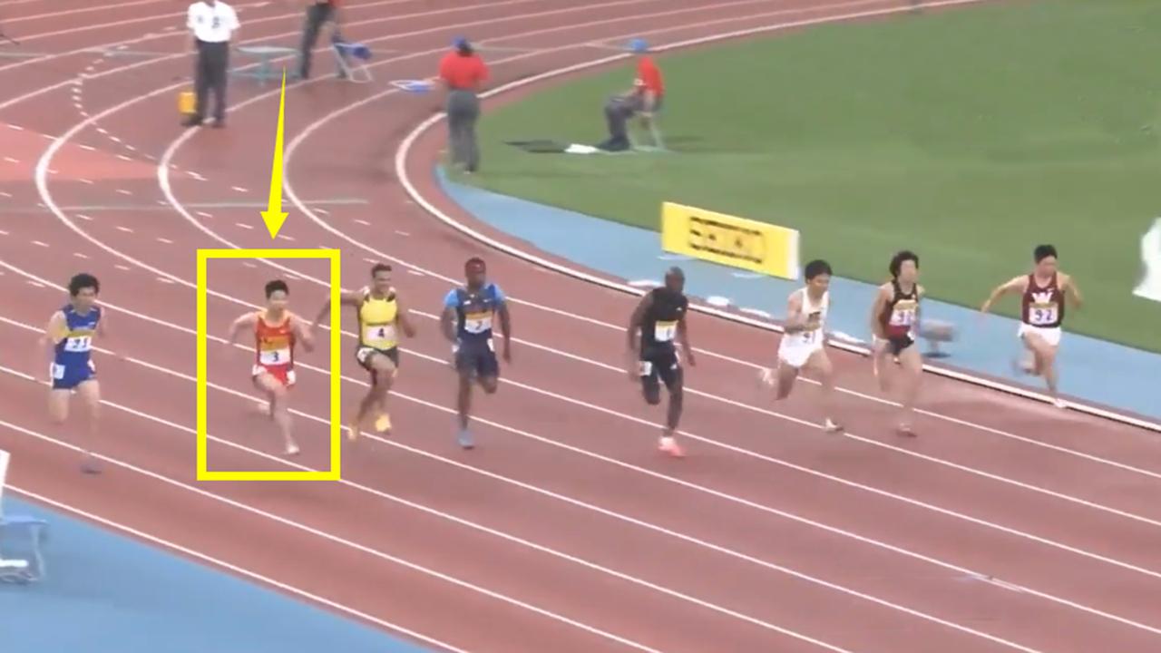 赛场出现意外!起跑不好,但中国飞人苏炳添后程连超6人逆转夺冠