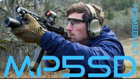 中文字幕【Garand Thumb】Foster Huntington的自制MP5 SD