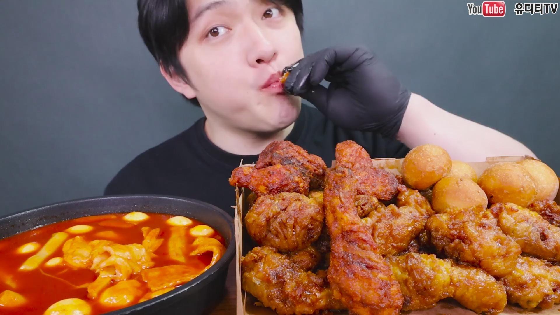 【Zach Choi】 BBQ橄榄炸鸡薯格洋葱圈+玉米沙拉