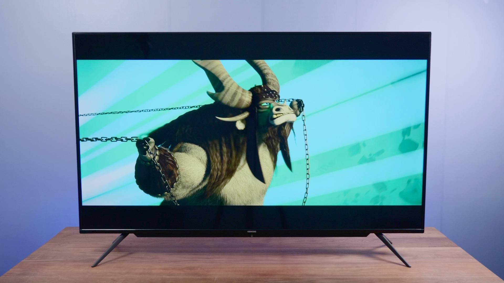 动动嘴就能控制的电视机,酷开P50声控智慧屏体验