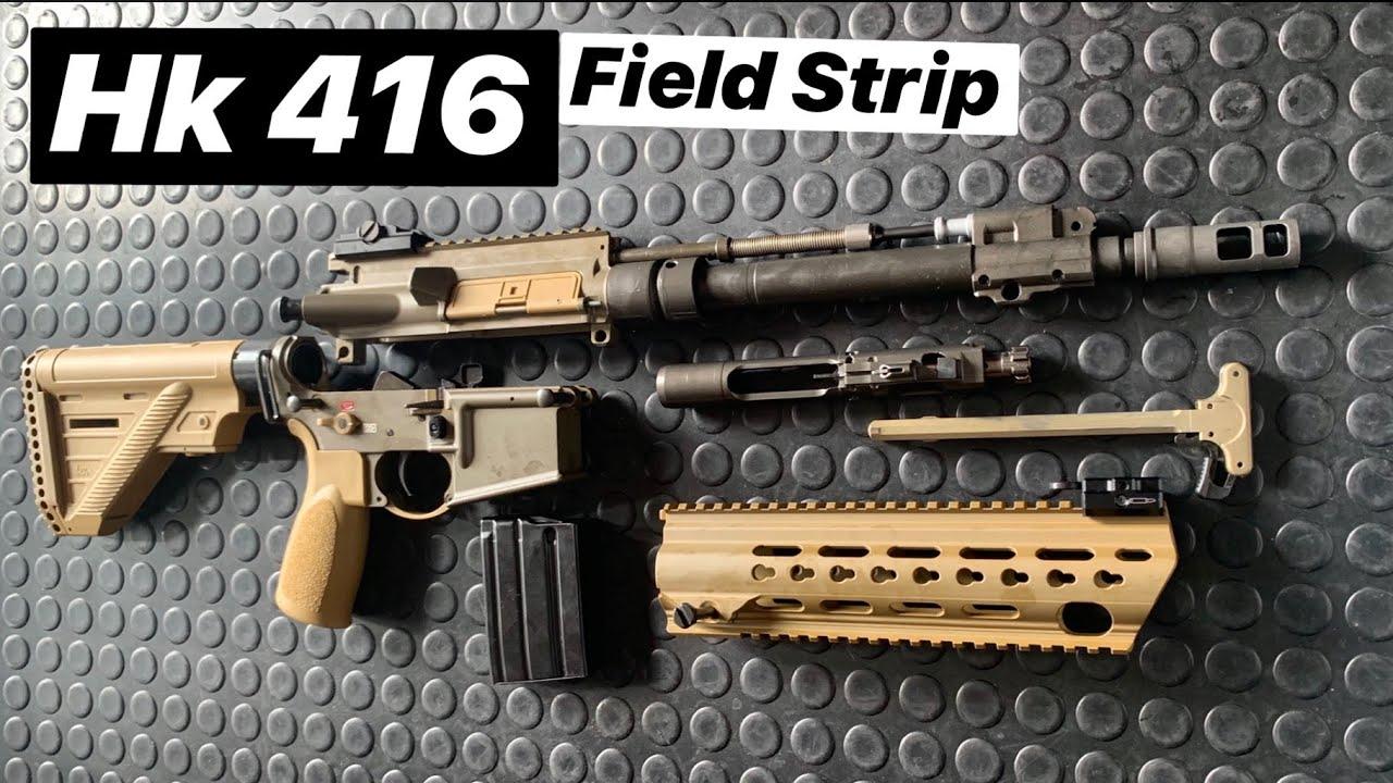 【ArmandGun】HK MR223A3步枪(民用版HK416A5)解析