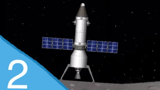 [镐子]【航天模拟器(无内购、不改文件)】攻略 02 登陆月球