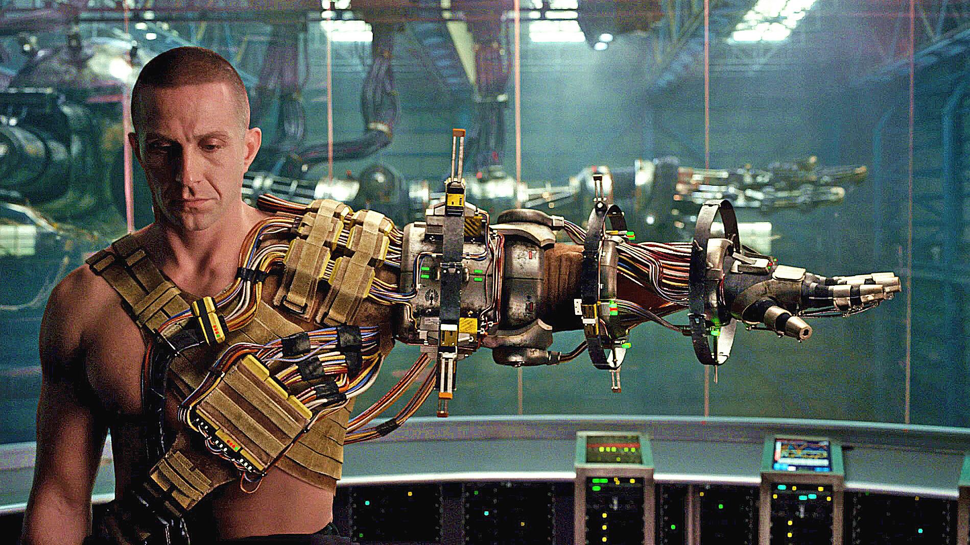 未来世界怪兽袭击了地球,人类必须与机器人合体,才能打败它们!