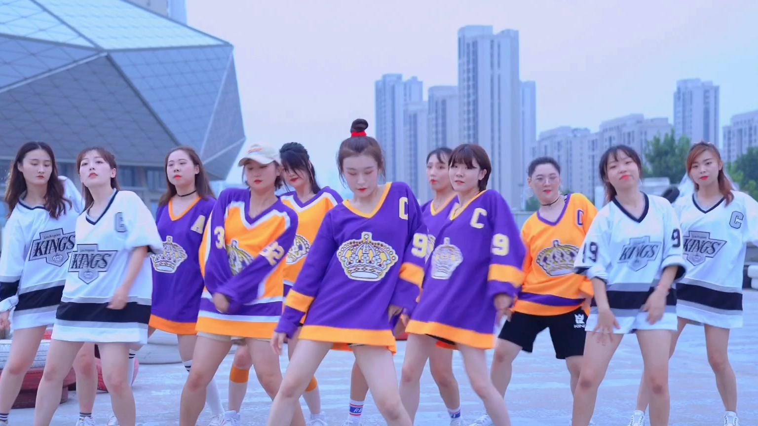 青岛ladys舞蹈 韩舞翻跳《UH-OH》青岛爵士舞韩团舞 婚礼舞蹈闺蜜舞蹈