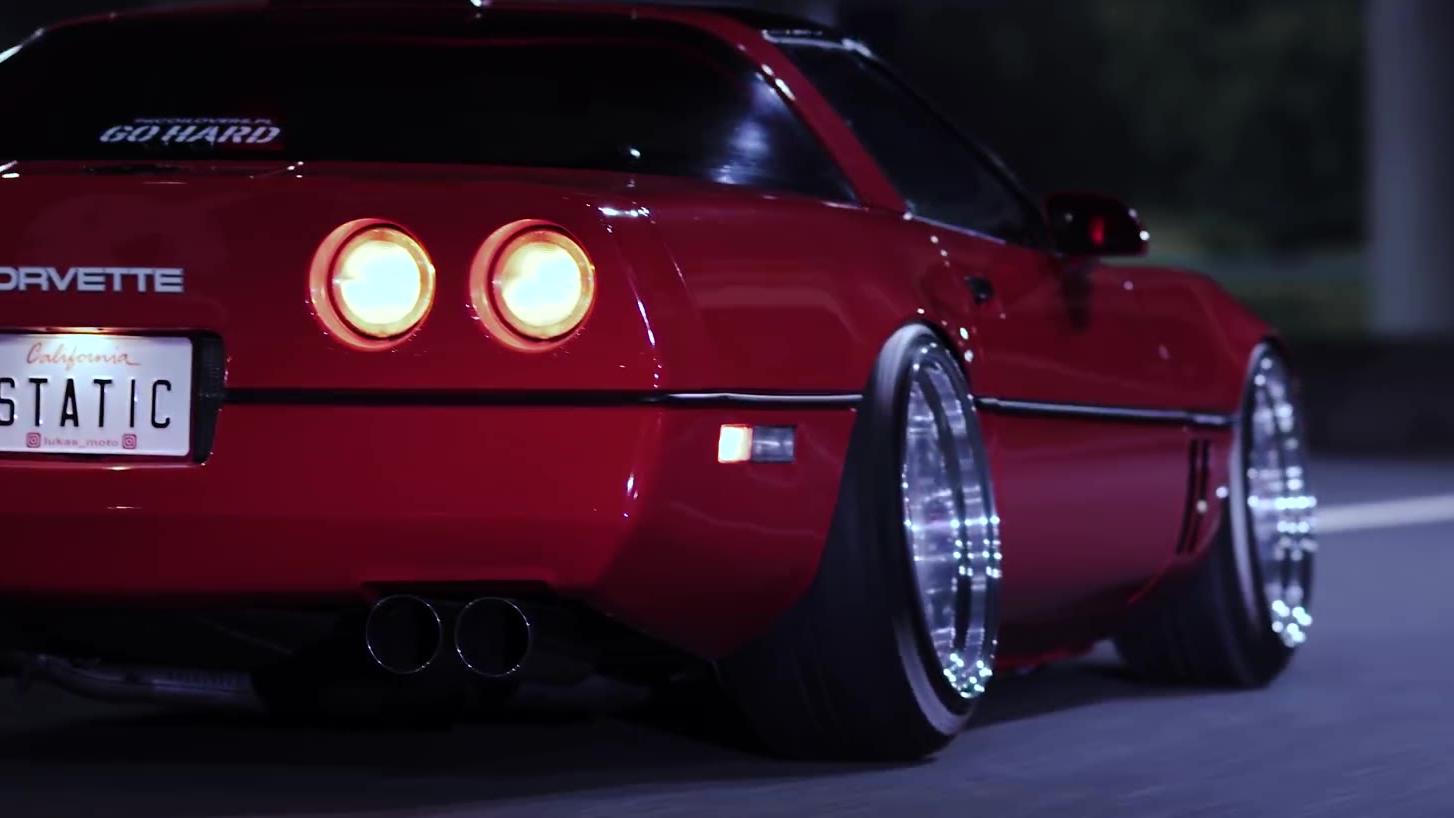 雪佛兰经典跑车 Static Corvette | 高清4K