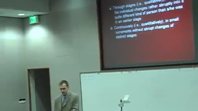 马里兰大学巴尔的摩郡分校:儿童发展心理学-23集(附视频下载链接)