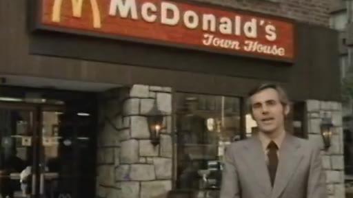 1974年纽约麦当劳 16年后第一家麦当劳在中国开业啦