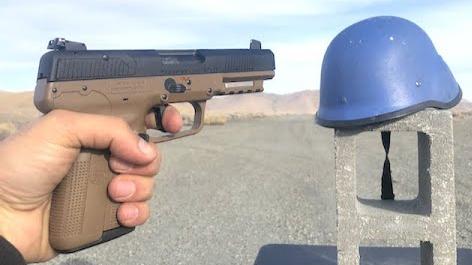 [Edwin Sarkissian]联合国蓝盔(捷克产M53)性能测试