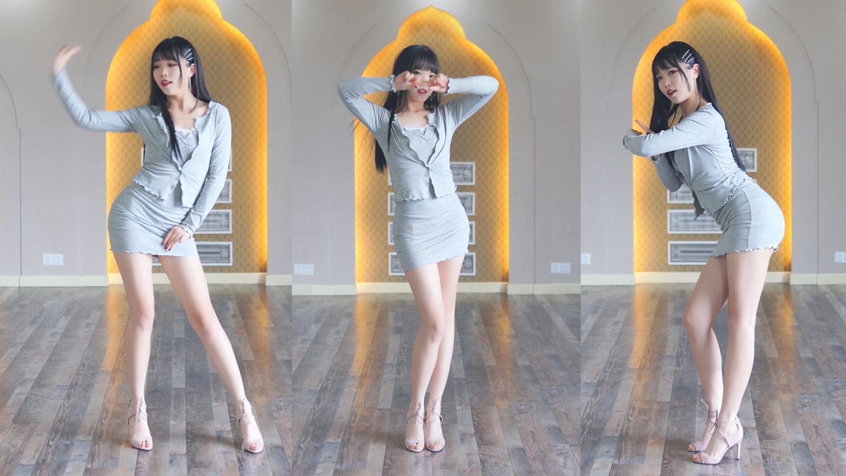 久违的细高跟•包臀裙•AOA短发【慕】