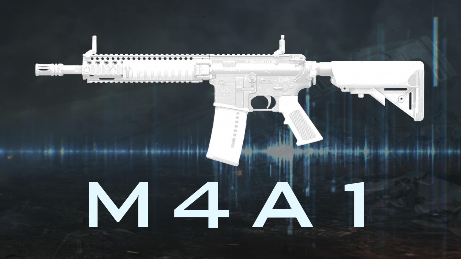 全能主角 M4A1突击步枪『现代战争武器指南』VOL.15