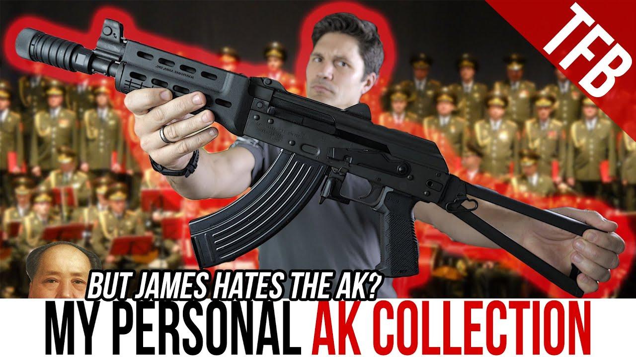 【中字】【TFBTV】J哥哥的AK收藏(他怂了,他向AK党低头了)