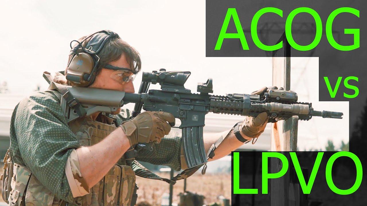 ACOG vs LPVO (Primary Arms ACOG with ACSS Aurora)