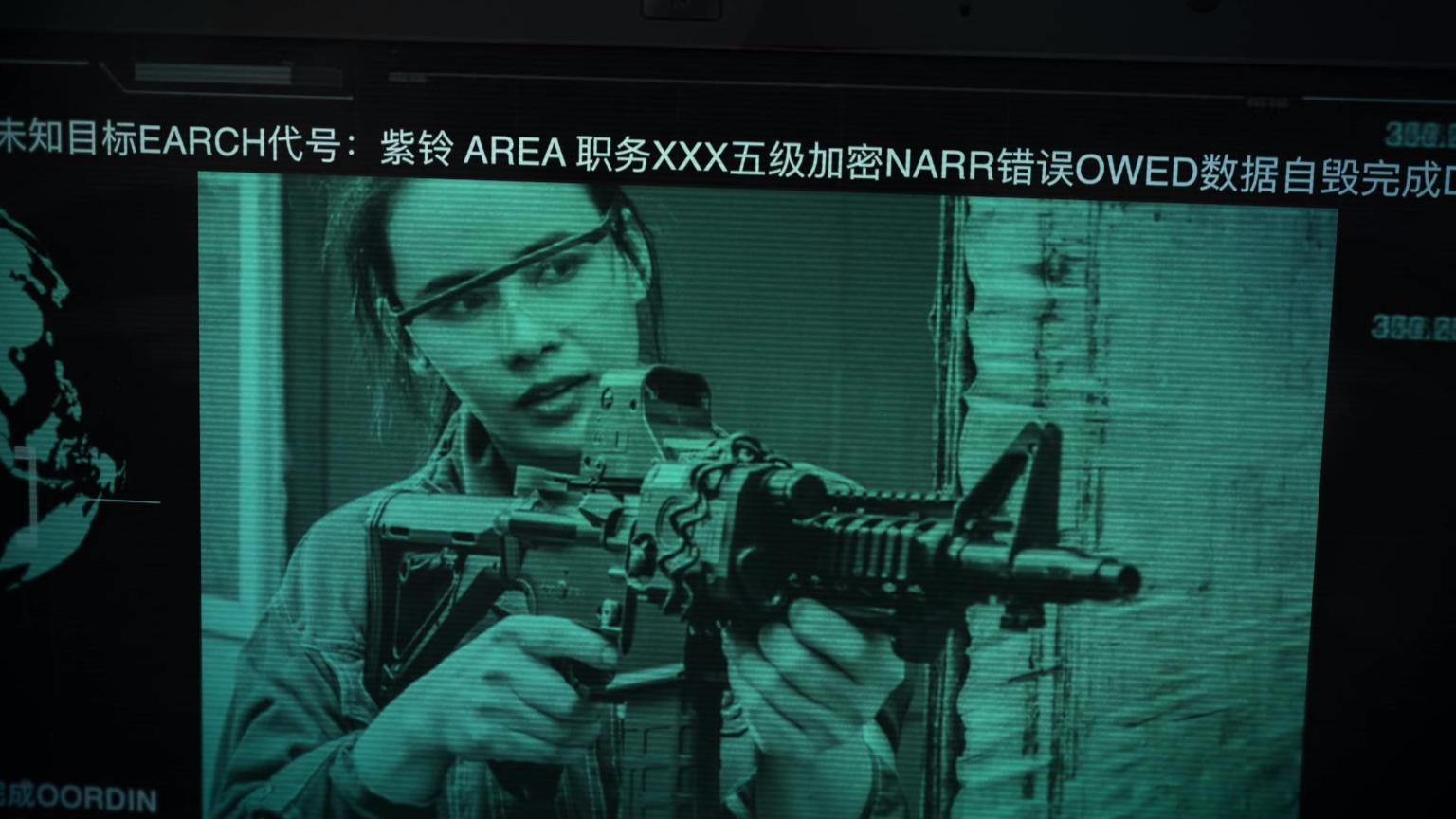【水弹黑客入侵大片】实拍 WG与水弹 战术小姐姐