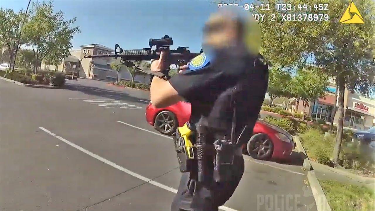 美国警察执法录像
