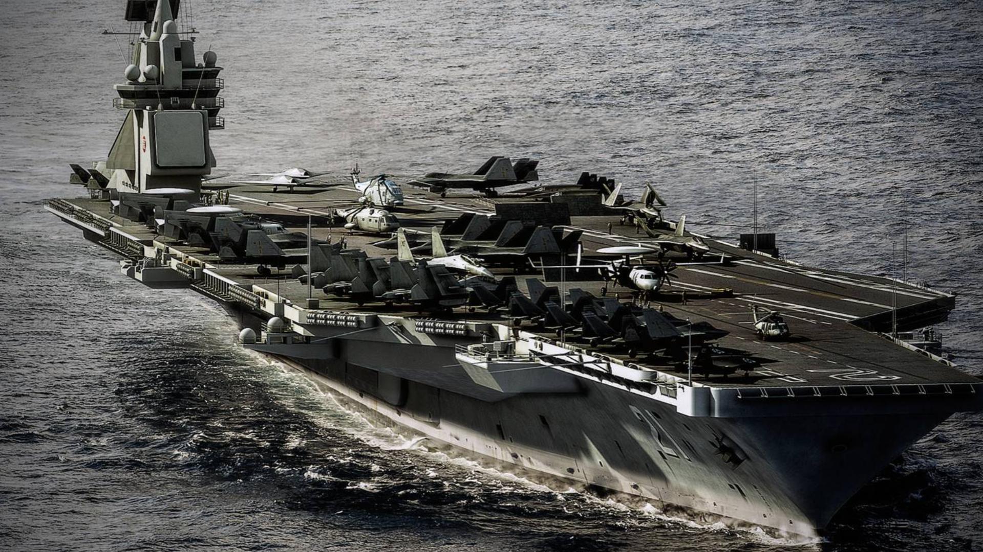 美太平洋舰队司令问中国要造多少艘航母?解放军少将回答太机智了