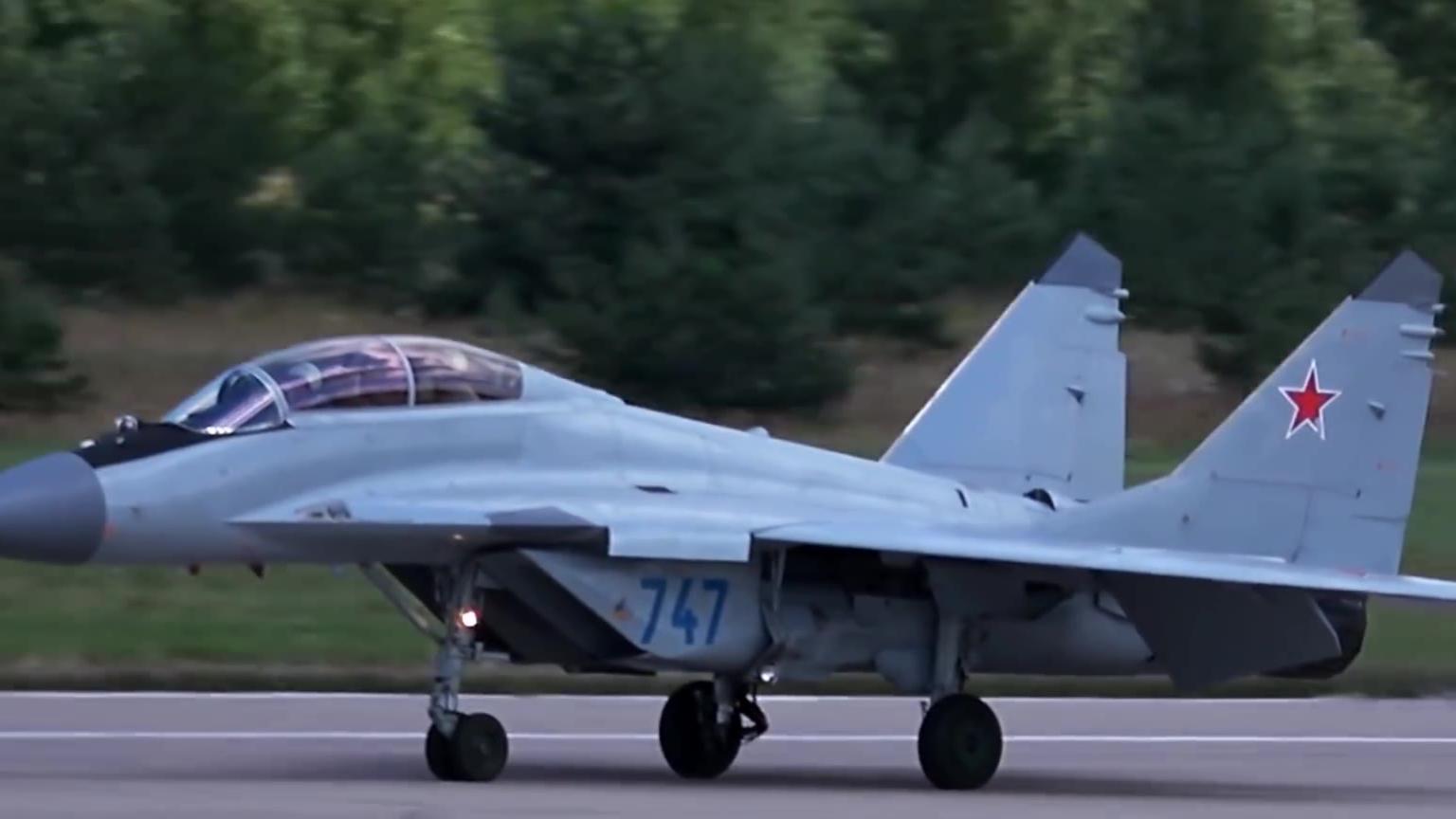 新俄米格- 35的展览!经典绝唱还是王者归来 ?