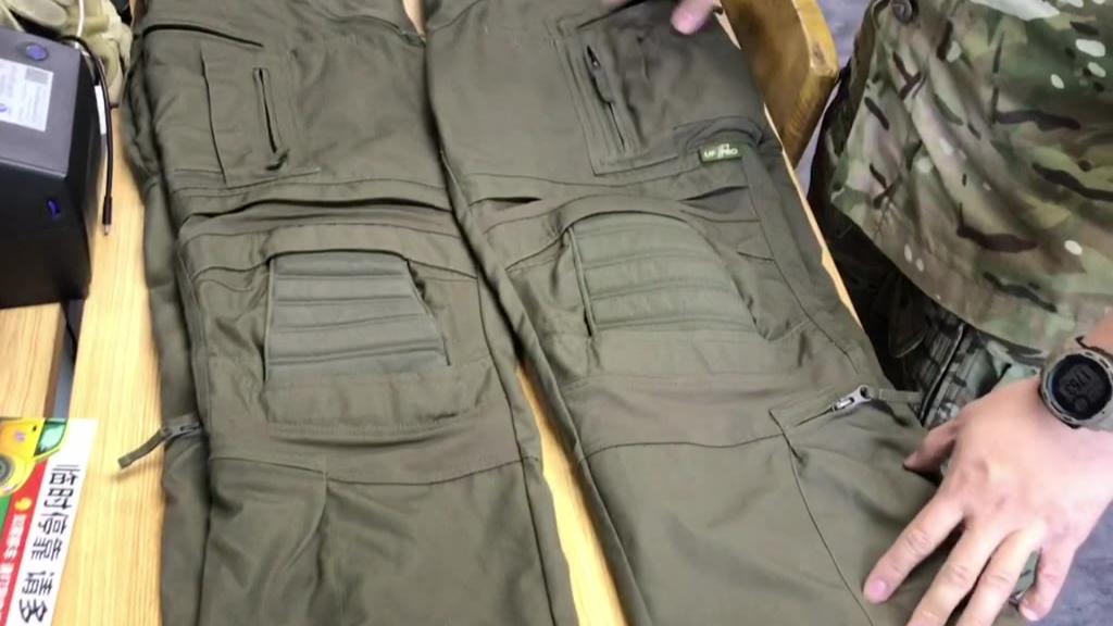 毒味战术裤双雄ufpro striker xt和ht对比