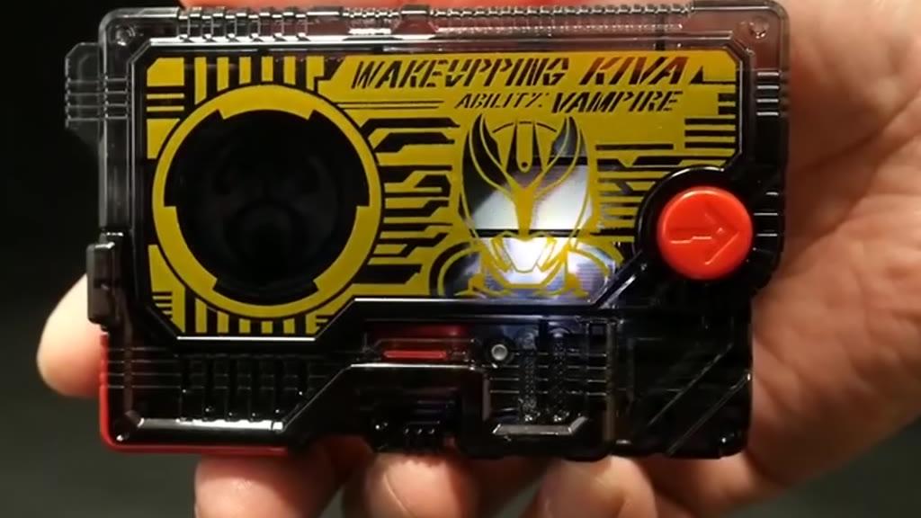 假面骑士01 Kiva 磁卡