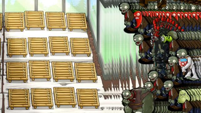 我过了植物大战僵尸β版里最难的关卡7-7!!!